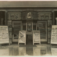 Appalachian Theatre Ticket Booth, 1947