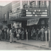 Appalachian Theatre Sidewalk Shot Southeast, 1948
