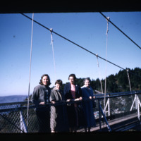 Thomas Family at Grandfather Mountain, circa 1958