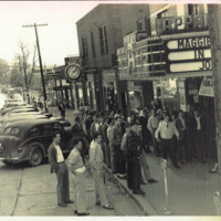 Appalachian Theatre Sidewalk Shot East, 1948&lt;br /&gt;<br />