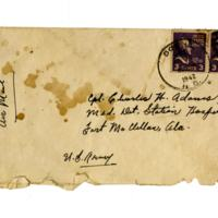 Letter, Louise (Adams) to Charles H. Adams, July 24, 1942