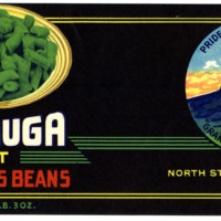 Cut Stringless Beans Label From North State Canning Co.
