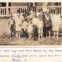 Farthing Children with Richard Farthing, ca. 1928