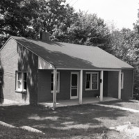 Phyllis Bingham House, Oblique View, 1954