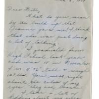 Letter, Rose Marie Mozelack to William H. Alexander, December 6, 1947
