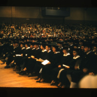 Graduation of Glenda Thomas Hubbard, 1958