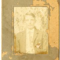 Portrait of Man in Suit with Tie