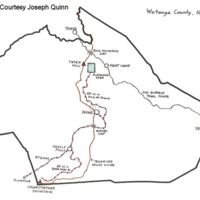 Whiting Railroads in Watauga County
