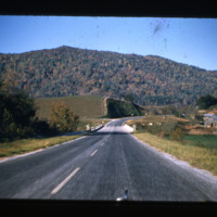 US Highway 321 in Fall, circa 1958