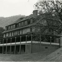 Building at Valle Crucis School