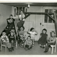 Children at Kindergarten, Inside, 1950s