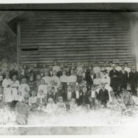 Congregation of the Friendship Methodist Church, Circa 1900--Duplicate