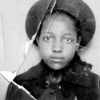 Young Girl In Wide Brimmed Hat