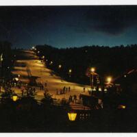 Appalachian Ski Mountain Postcard