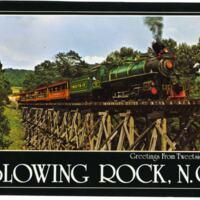 Greetings From Tweetsie Railroad Postcard