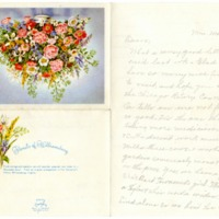 Mrs. W. W. Mast to William T. Mast and Family, Undated