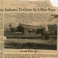Boone Fork Lumber Watauga Democrat Article #1
