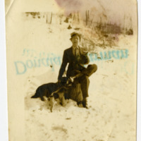 Laura Brown Timmons with Dogs